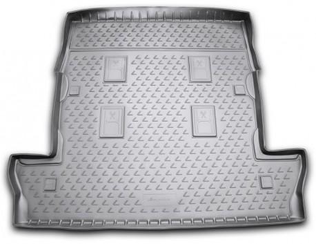 Фото Коврик в багажник Lexus LX 07-12, 12- 7 мест длинный черный Element
