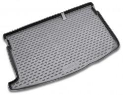 Коврик в багажник Mazda 2 07-14 хэтчбек, полиуретановый черный Novline