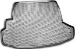 Коврик в багажник Nissan X-Trail 07-15, полиуретановый черный Novline