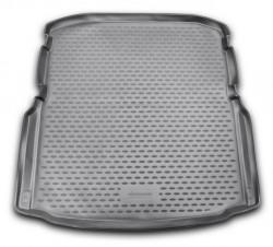 Коврик в багажник Skoda Octavia A7 13- седан, полиуретановый черный Element