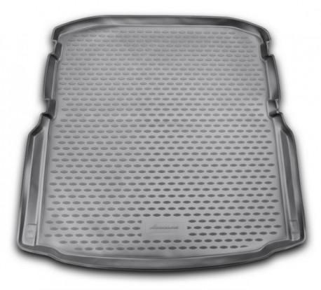Photo Коврик в багажник Skoda Octavia A7 13- седан, полиуретановый черный Element