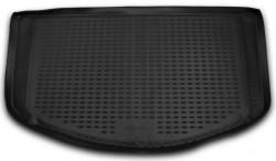 Коврик в багажник SsangYong Actyon 06-12, полиуретановый черный Element