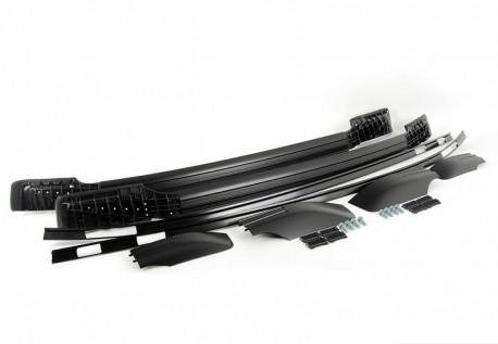 Черные рейлинги на BMW X6 2008-2014 оригинал OEM