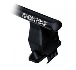 Багажник черный на Kia Rio 05-11 5 дверей Menabo Fe