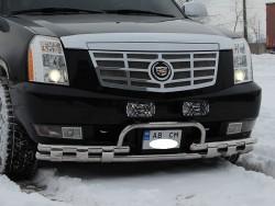 Передний ус AK003 на Cadillac Escalade 2007-2014