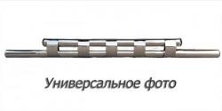 Передній вус подвійна труба з грилем на Lifan X60 2012-