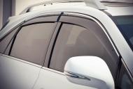Ветровики с хром молдингом Lexus RX 2009-2015 AVTM