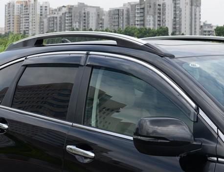Фото Ветровики с хром молдингом Honda CR-V 2007-2012 AVTM
