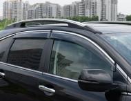 Ветровики с хром молдингом Honda CR-V 2007-2012 AVTM