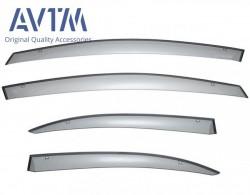 Чорні вітровики Honda Civic 2006-2011 седан AVTM