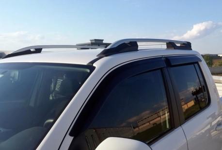 Рейлинги Volkswagen Amarok 2010- Falcon алюминиевые