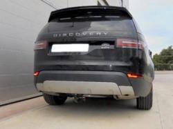 Фаркоп Land Rover Discovery 5 2017- вертикальный автомат Aragon