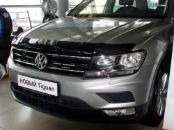 Дефлектор капота Volkswagen Tiguan 2016- SIM