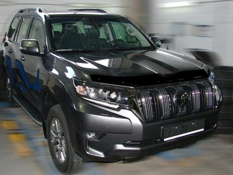 Дефлектор капота Toyota Prado 2017- SIM