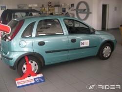 Молдинги дверей Opel Corsa хэтчбек 2000-2006 Rider