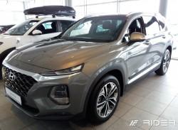 Молдинги дверей Hyundai Santa Fe универсал 2018- Rider