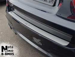 Накладка на бампер BMW X3 2010-2017 Premium
