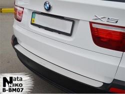 Накладка на бампер BMW X5 2007-2013 Premium