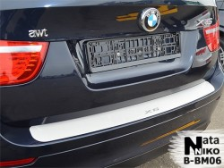 Накладка на бампер BMW X6 2008-2014 Premium