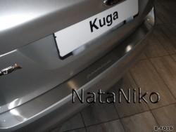 Накладка на бампер Ford Kuga 2008-2012 Premium