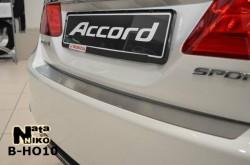 Накладка на бампер Honda Accord 2013- Premium