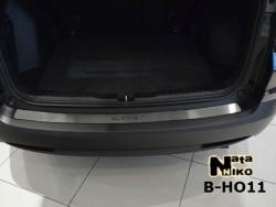 Накладка на бампер Honda CR-V 2012- Premium