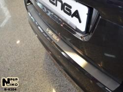Накладка на бампер Kia Venga 2009- Premium