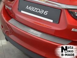 Накладка на бампер Mazda 6 2013- Premium