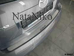 Накладка на бампер Mazda CX7 2006-2012 Premium