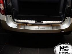 Накладка на бампер Renault Duster 2010- Premium