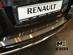 Накладка на бампер Renault Koleos 08-13, 13- Premium
