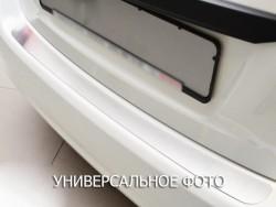 Накладка на бампер Renault Laguna 07-12, 12- универсал Premium