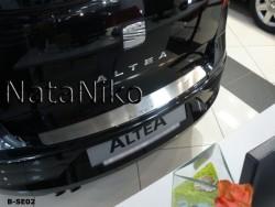 Накладка на бампер Seat Altea 2004- Premium