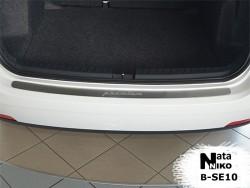 Накладка на бампер Seat Ibiza 2010- универсал Premium