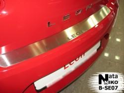 Накладка на бампер Seat Leon 2005-2012 Premium
