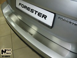 Накладка на бампер Subaru Forester 2008-2012 Premium