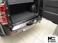 Накладка на бампер Suzuki Grand Vitara 2005- Premium