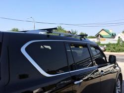Багажник на рейлинги Infiniti QX56 04-10, QX80 10-14, 14- Cruz SR