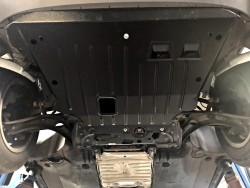 Защита картера и КПП Volkswagen Tiguan 2016- Полигон