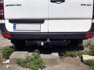 Фаркоп Mercedes Sprinter 2006-2018, 2018- также будка 3T, 3.5T, 4.6T HakPol