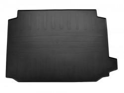 Черный коврик в багажник BMW X5 G05 2018-, резиновый Stingray