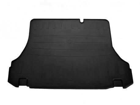 Резиновый коврик в багажник Daewoo Lanos седан 1997-, черный Stingray