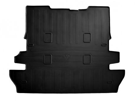 Резиновый коврик в багажник Toyota Land Cruiser 200 2007-2015, черный Stingray