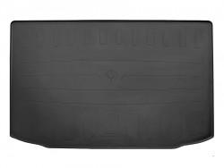 Черный коврик в багажник Mitsubishi ASX 2010-, резиновый Stingray