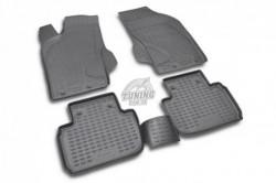 Полиуретановые коврики в салон Alfa Romeo 147 2000-2010 Element черные 4 шт