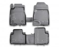 Полиуретановые коврики в салон Great Wall Haval H6 2011- Element черные 4 шт
