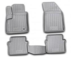 Полиуретановые коврики в салон Dodge Avenger 2007-2010 Element черные 4 шт
