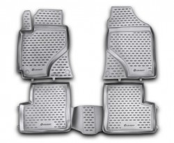 Полиуретановые коврики в салон Lifan 620 2010- Element черные 4 шт