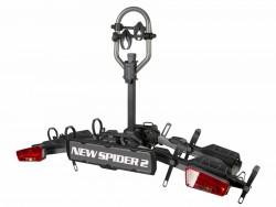 Велокрепление на фаркоп InterPack New Spider 2E в виде платформы