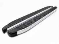 Боковые пороги подножки Blackline Acura MDX 2013- OmsaLine